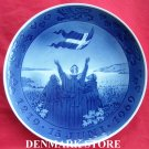 Danish Flag Vintage Danish Royal Copenhagen Denmark Jubilee Plate 1969