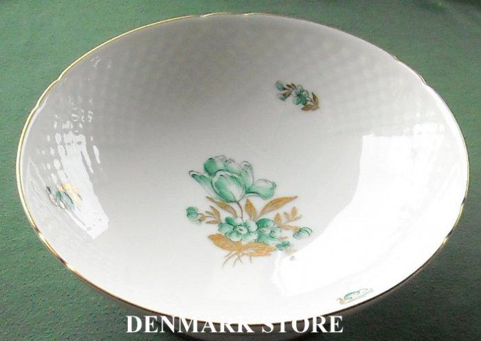 Danish Bing & Grondahl Copenhagen BIG 17 Footed Dish Plate