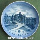 Danish Royal Copenhagen Denmark limited edition plate OSNABRUCK 1985