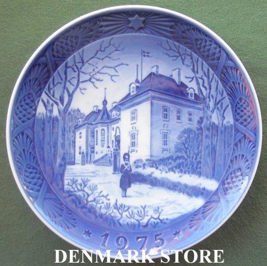 Danish Royal Copenhagen Denmark christmas plate 1975