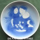 Danish Desiree Svend Jensen Denmark First Edition Mothers Day plate 1970