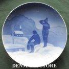 Danish Bing & Grondahl Copenhagen Vintage Christmas Plate 1928