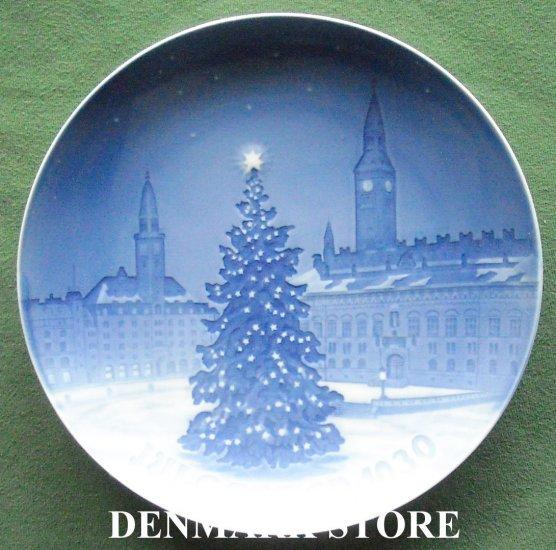 Vintage Danish Bing & Grondahl Copenhagen Christmas Plate 1930