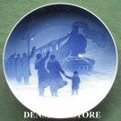 Vintage Danish Bing & Grondahl Copenhagen Christmas Plate 1931