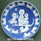 Danish Royal Copenhagen Denmark Mothers Day Plate 1974