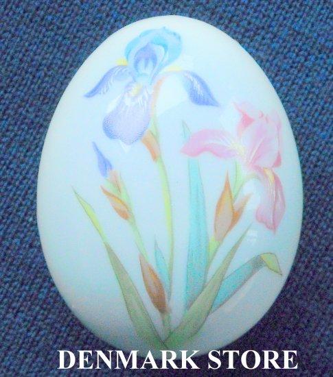 1997 Danish Bing & Grondahl Copenhagen Annual Egg