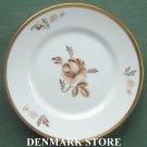 Royal Copenhagen Denmark 688 Brown Rose Bread Butter Plate
