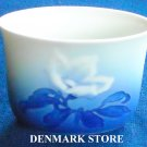 Vintage Bing & Grondahl B&G Copenhagen White Christmas Rose Oval Dish