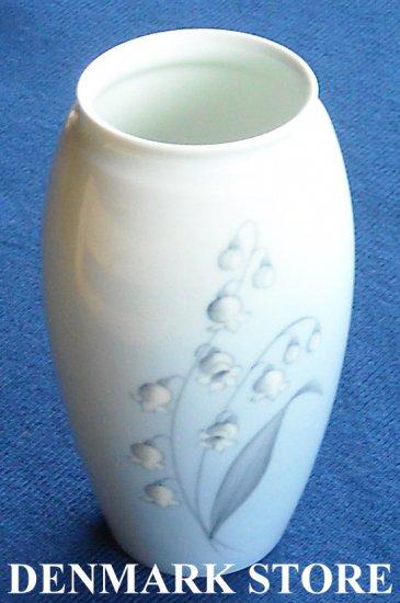 Vintage danish Bing & Grondahl B&G Copenhagen Lily of the valley  vase