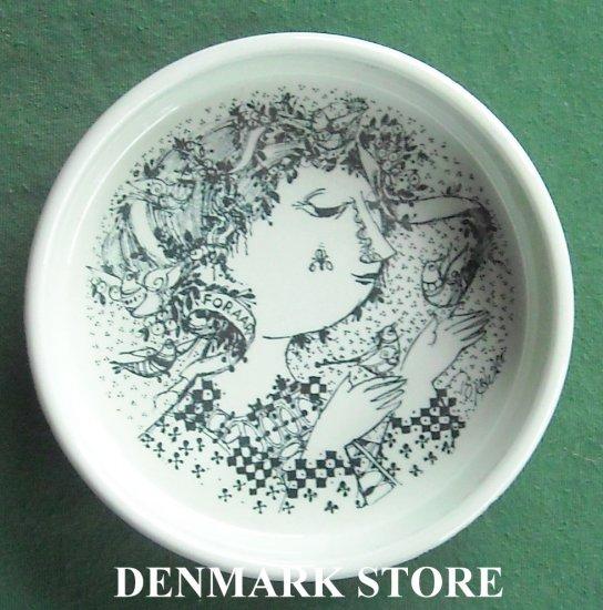Danish Bjorn Wiinblad Nymolle Sofia Small Bowl Dish Black