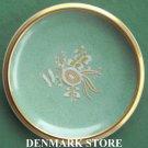 Rare Danish Royal Copenhagen Denmark Crackle Gold Bowl Dish