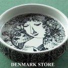 Danish Bjorn Wiinblad Nymolle Louise Medium Bowl Dish Black