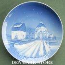 Danish Bing & Grondahl Copenhagen Christmas Osterlars Kirke plate 1960