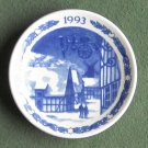 Royal Copenhagen Denmark Christmas Mini Plate 1993