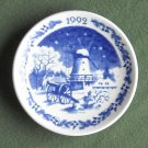 Danish Royal Copenhagen Denmark Christmas Mini Plate 1992