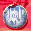Christmas In America Bing & Grondahl Copenhagen Denmark Ornament 1997
