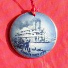 Danish Bing & Grondahl Copenhagen America Christmas Mississippi Ornament 1995
