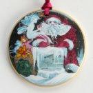Danish Bing Grondahl Copenhagen Denmark Santa Claus Christmas Ornament 1992