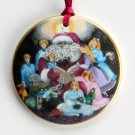 Bing & Grondahl Copenhagen Santa Claus Christmas Ornament 1994