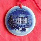 Bing & Grondahl Copenhagen Christmas in America White House ornament 1987