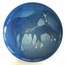 Mother's Day Plate Danish Bing & Grondahl Denmark Mare with Foal 1972