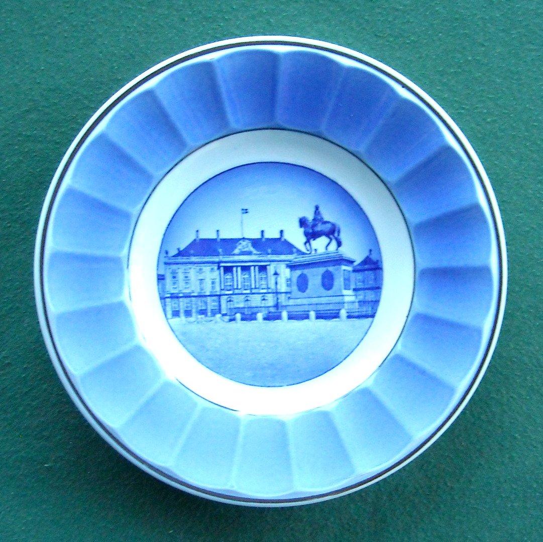 Aluminia Vintage Danish Copenhagen Amalienborg 13 1776 plate