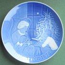 Danish Bing & Grondahl Copenhagen A Christmas Tale Christmas Plate 1978
