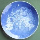 Danish Bing & Grondahl Copenhagen Christmas Peace Plate 1981