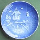 Bing & Grondahl Copenhagen Old Town Christmas Plate 1983