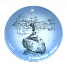 Little Mermaid Bing & Grondahl Copenhagen Denmark Porcelain Plate