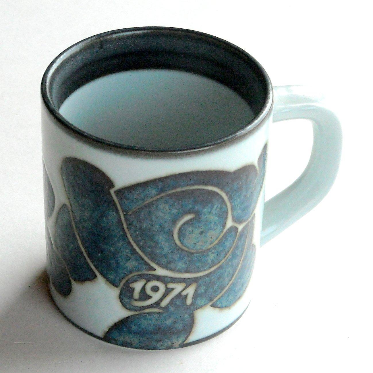 Royal Copenhagen Small Annual Mug 1971