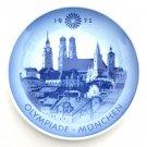 Royal Copenhagen Denmark Munich Olympic Plate 1972
