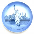 Royal Copenhagen Denmark Statue of Liberty Plate