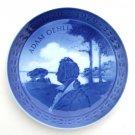Royal Copenhagen Denmark Adam Oehlenschlager Bicentenary 200 Years Plate 1979