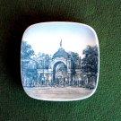 Danish Bing & Grondahl Copenhagen Tivoli Small Plate Ornament