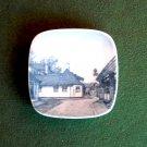 Danish Bing & Grondahl Copenhagen Denmark H C Andersen's house Odense Small Plate Ornament