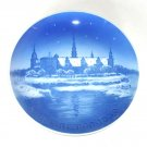 Vintage Danish Bing & Grondahl Copenhagen Christmas Plate 1950