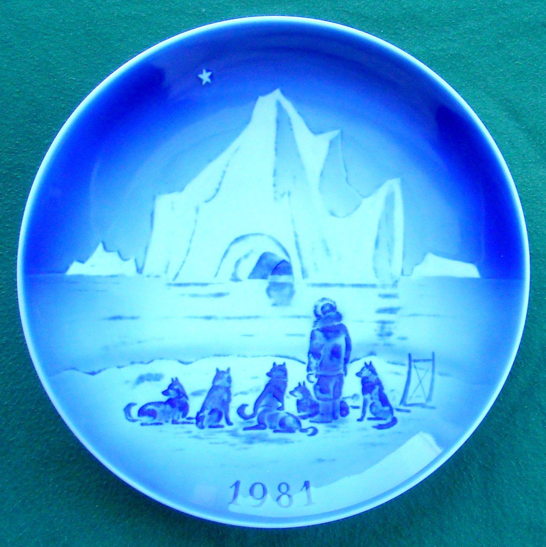 Danish Desiree Svend Jensen Denmark Old Copenhagen Blue plate 1981