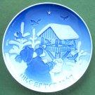 Vintage Bing Grondahl Copenhagen Boxed Christmas Plate 1967