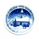 Royal Copenhagen Denmark 1995 Mini Christmas Plate
