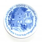 Royal Copenhagen Denmark Mini Christmas Plate 2002