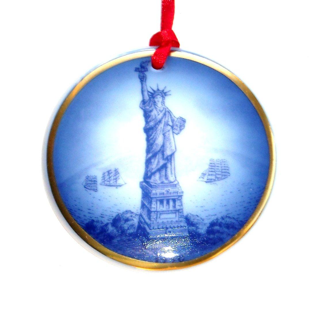 Bing & Grondahl Copenhagen American Christmas Heritage Ornament 1996