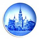 Rosenborg Slot Danish Aluminia Royal Copenhagen Vintage Mini Plate