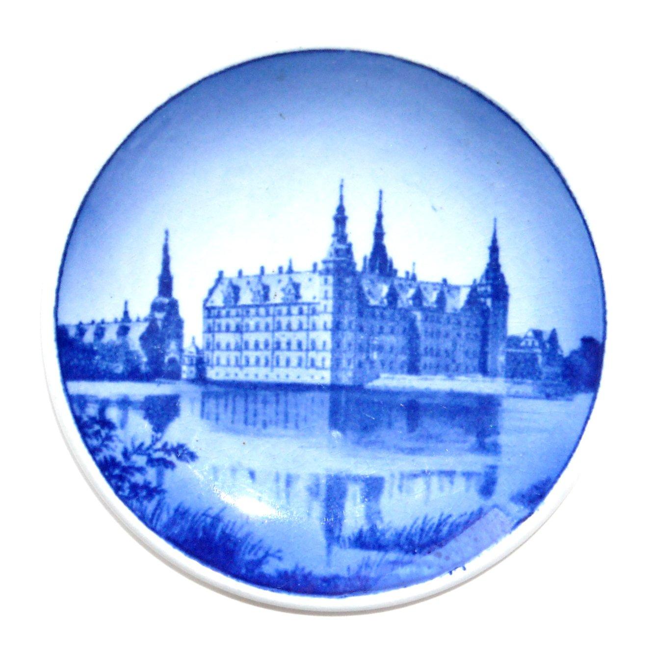 Frederiksborg Slot Danish Aluminia Royal Copenhagen Vintage Mini Plate