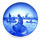 Mermaid Langelinie Danish Aluminia Royal Copenhagen Vintage Mini Plate