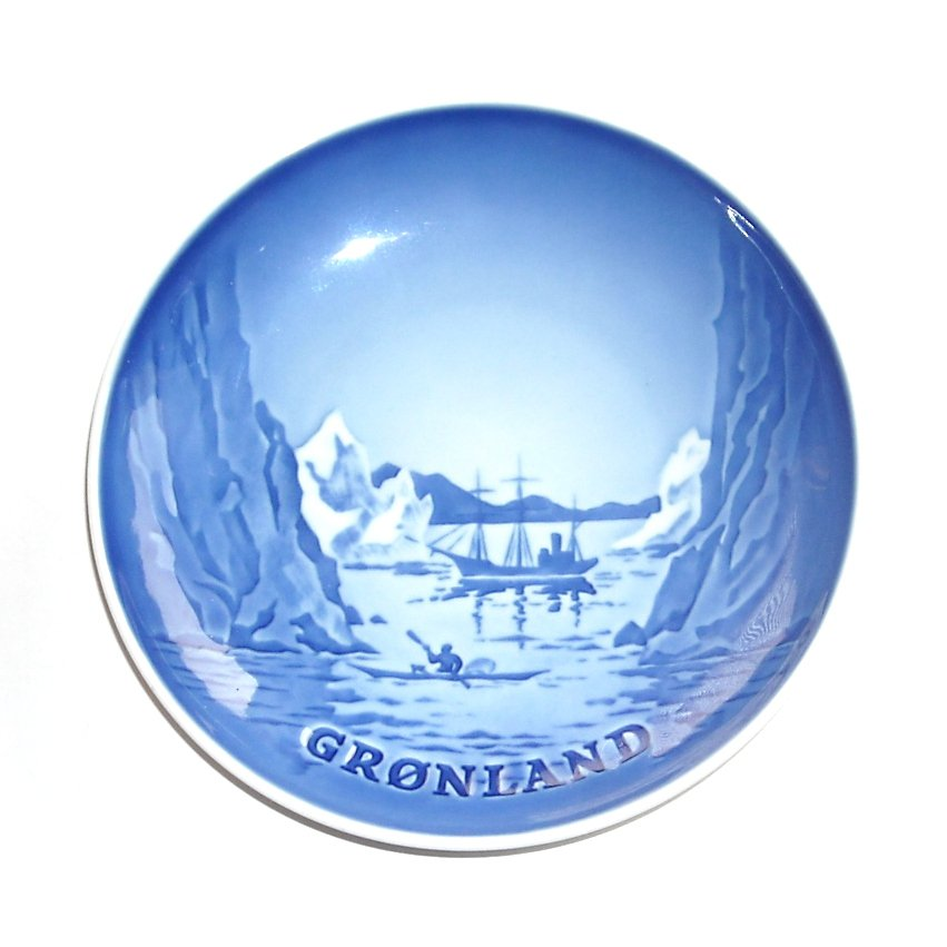 Arctic Greenland Gronland Bing & Grondahl Copenhagen Plate
