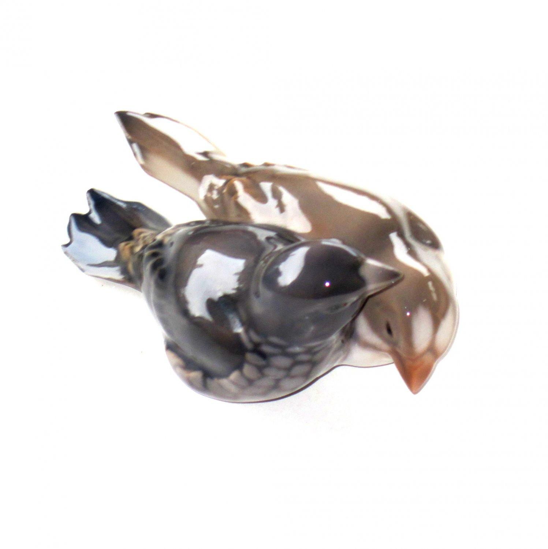 Finches Bing & Grondahl Denmark Vintage Birds Figurine