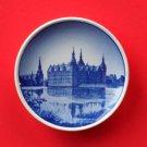 Frederiksborg Castle Vintage Aluminia Royal Copenhagen Plaquette Mini Plate
