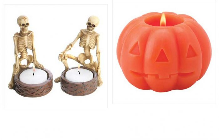 Skeletons Plus Candle