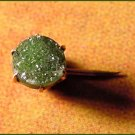 Antique Victorian 14k Gold and Druzy Gemstone Little Stickpin - Free USA Shipping